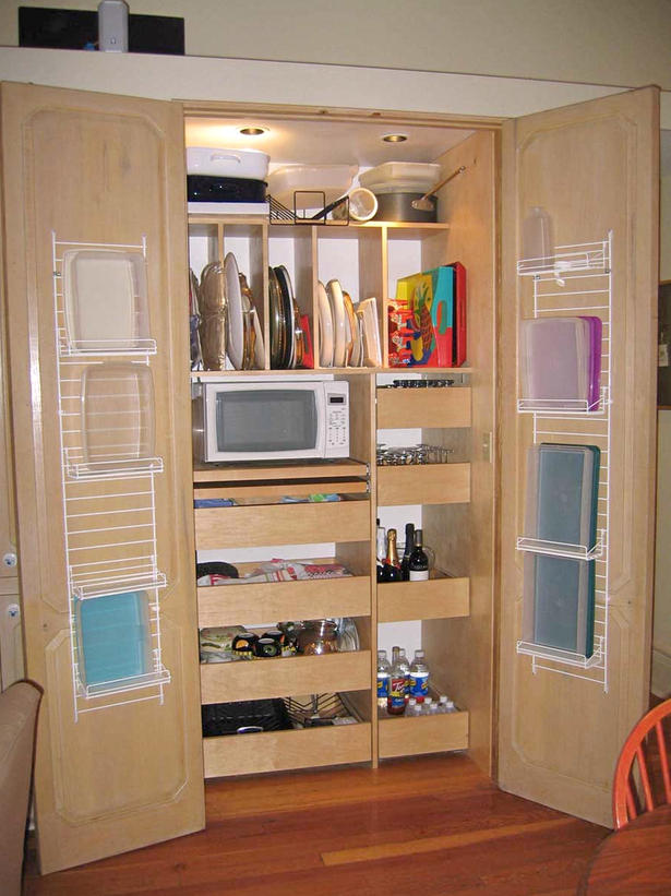 smart organizing ideas for small spaces affordable organization - Kitchen Pantry Ideas Small Kitchens