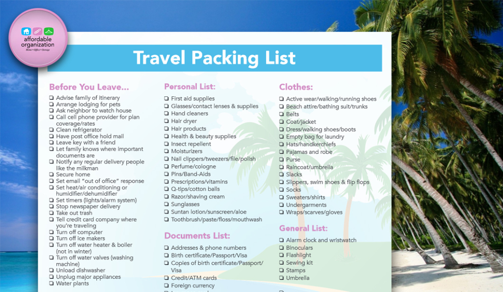 travel-packing-list